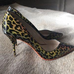 Sophia Webster leopard print pumps size 7 1/2